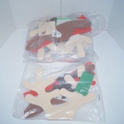 13 Foam Reindeer Antler Headbands Christmas Craft Kit 48/2627 NEW](Reindeer Antler Headband Craft)