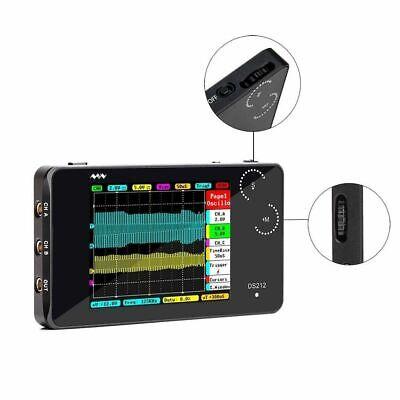 Mini Arm Dso212 Digital Storage Oscilloscope Portable Handheld 2 Channel 10msas