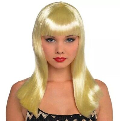 Halloween Costumes For Blonde Women (Halloween BLONDE ELECTRA WIG for ADULTS)