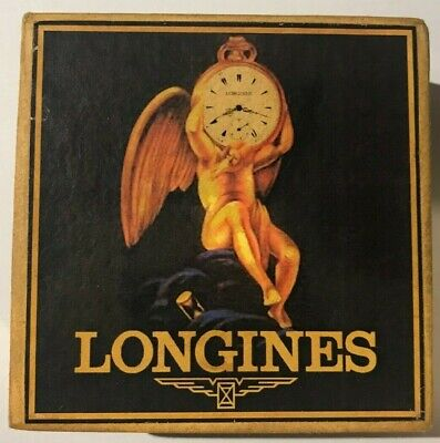 very old Longines empty box for pocket watch