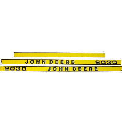 John Deere 3020 Decal Set Yellow Side Molding Stickers Emblems Sjd-632