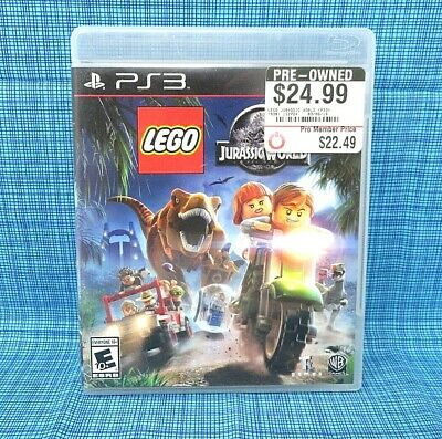 PS3 - Lego Jurassic World - PS3 Game..................................M24