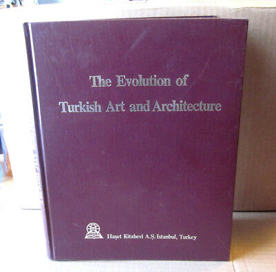 Growth OF TURKISH ART Architecture coffee-table book Metin Sozen 1984 Turkey