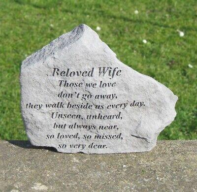 Beloved Wife Memorial Stone