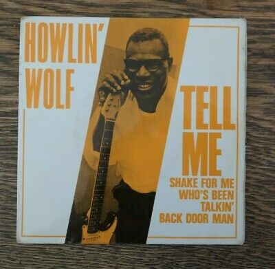 HOWLIN' WOLF -Tell Me 1964 PYE INTERNATIONAL EP classic A2/B2 Pic sleeve VG+/EX-