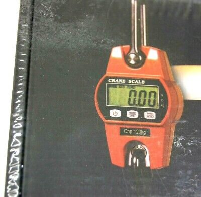 Weigh Up To 600 Lbs Digital Industrial Hanging Mini Crane Scale Ocs-l Brand New