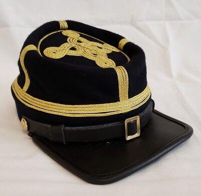 Confederate Civil War Hats - American Civil War Confederate Generals Class A Officers Kepi Visor Hat Cap