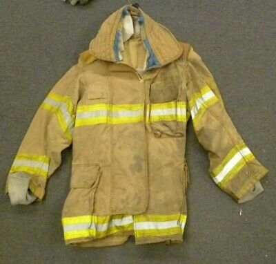 42 Regular Securitex Firefighter Jacket Turn Out Gear No Liner