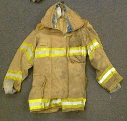 42 Regular Securitex Firefighter Jacket Turn Out Gear No Liner