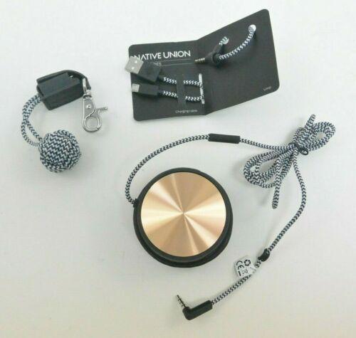 USED - Native Union Monocle Portable Speaker - Gold