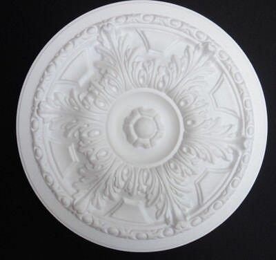"Ceiling Rose Size 445MM (17 1/2"") - Lightweight Polystyrene  'COUNTRY SPLENDOUR'"