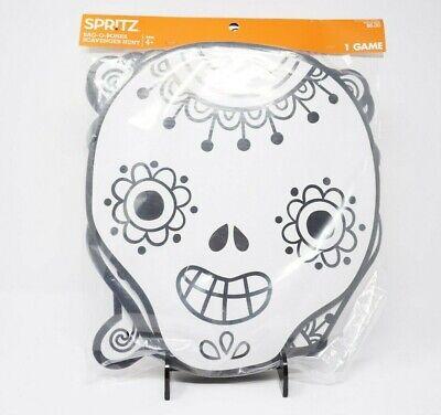 Halloween Party Game Skeleton Bag O Bones Scavenger Hunt Craft Day of the