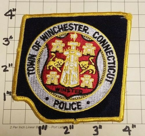 Winchester (CT) Police Department Patch