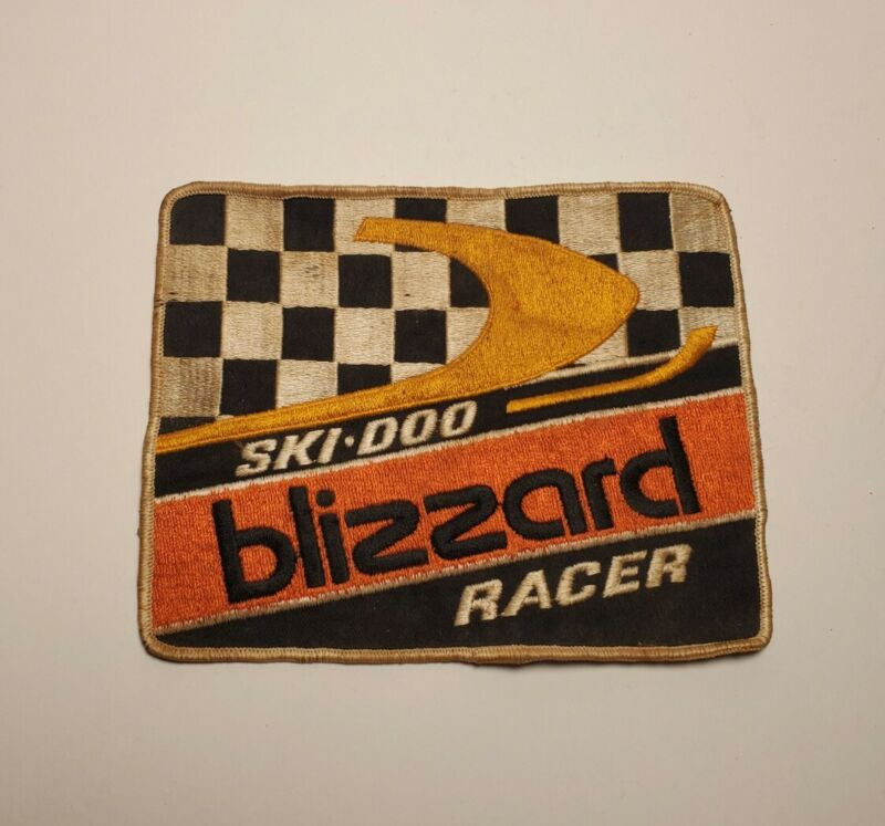 Ski Doo Blizzard Racer Snowmobile Patch