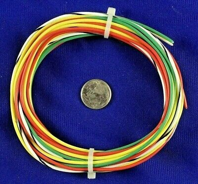 K2 Silver Teflon Ftpe Wire Kit Of Various Colors - 32 Feet Of Awg 18