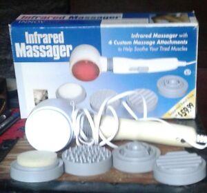 Infrared massager