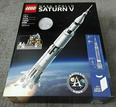 LEGO 21309 Ideas NASA Apollo Saturn V Rocket Brand New Sealed Box Free Shipping