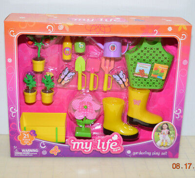 My Life as a Gardening Play Set 21 pieces for 18
