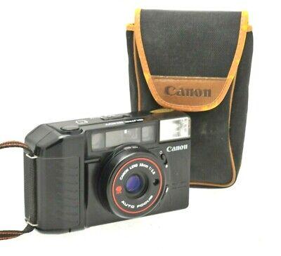 Canon SureShot AF35M II Film Camera 38mm F2.8 Lens Film Case TESTED Lomo Retro