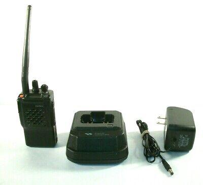Vertex Vx-800v Portable Two Way Radio W Rapid Desktop Charger Cd-16