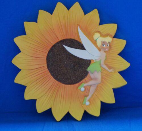 Tinker Bell Sun Flower Wall Hanging Plaque Stepping Stone Peter Pan Disney