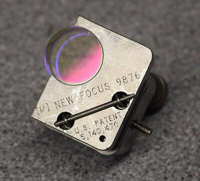 New Focus Newport 9876 Tiny Corner Mirror Mount 0.5 In. 3 Allen-key Adj
