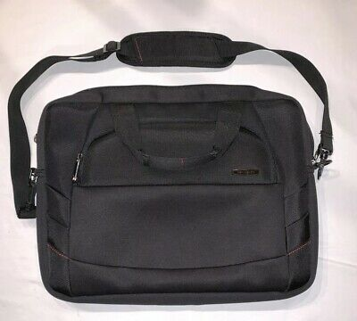 "Samsonite Classic Business Laptop Messenger Bag Computer Carrying Case 17"" Wide"