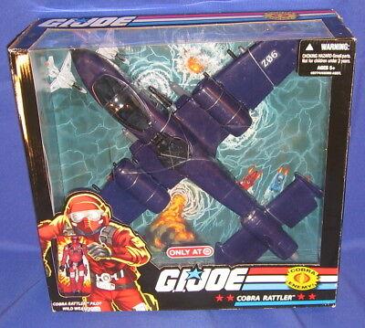 G.I. JOE Exclusive Deluxe Vehicle Cobra Rattler with Wild We