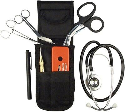 Emt Ems 1st Emergency Response Belt Holster Set 8 Emergency Items Included