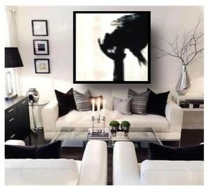Abstract Living Room Large Modern Painting