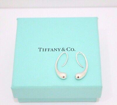 Tiffany & Co. Elsa Peretti Sterling Silver Teardrop Earrings