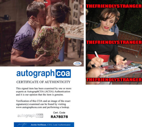 "RACHEL McADAMS signed Autographed ""THE VOW"" 8X10 PHOTO - PROOF - Sexy ACOA COA"