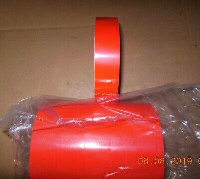 Upvc 2.4 Mil. Pvc Tape 1 Wide X 72 Yds. Red 6-rolls Per Box