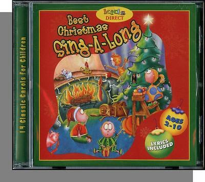 Best Christmas Sing-a-Long - New Kids Split Track Christmas Carols (Best Kids Christmas Cd)