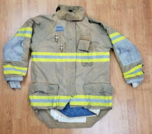 Morning Pride Ranger Firefighter Bunker Turnout Jacket w/ DRD 44 x 35