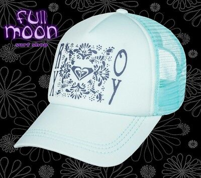 Womens Trucker Hat (New ROXY Truckin Floral Womens Snapback Trucker Hat)