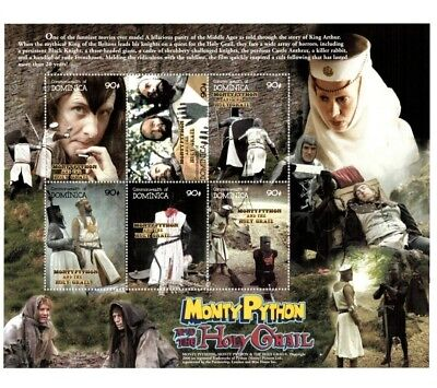 Dominica 2000 - Monty Python And The Holy Grail - Sheet of 6 Stamps - MNH