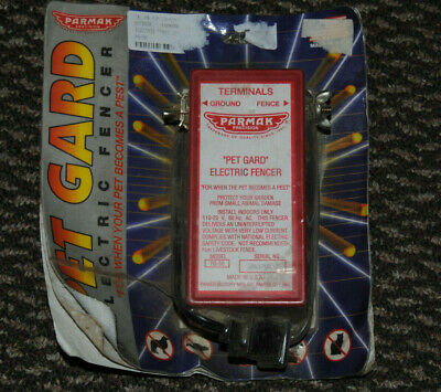 Pet Gard Elec Fencerno Pg-50 Parker Mc Crory Mfg Co