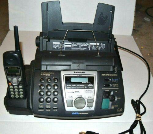 Panasonic KX-FPG371 Plain Paper Fax Cordless Phone Digital Answering System