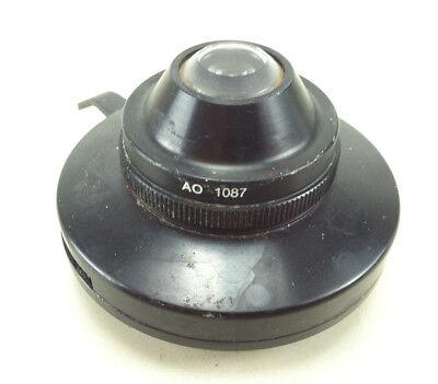American Optical Microscope Condenser Ao 1087 -- N.a .1.25 Abbe Aspheric
