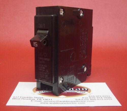 15 Amp Challenger/Bryant/Eaton/Cutler-Hammer 1 Pole C115 BR115 Circuit Breaker