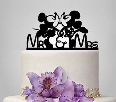 Mickey Minnie Cake Topper Wedding Party Decoration Engagement Anniversary](Minnie Cake Decorations)