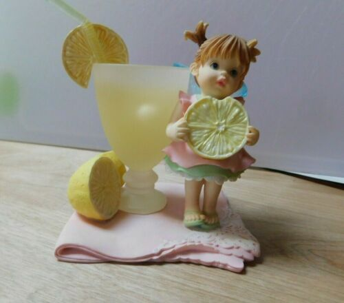 Enesco My Little Kitchen Fairies * Lemonade  Fairie *  Immaculate Shape