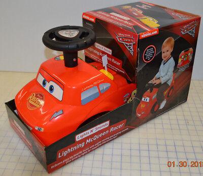 Cars Ride On Lightning Mcqueen (Kiddieland Disney PIXAR Cars 3 Lightning McQueen Racer Ride On Lights N Sounds)