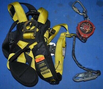 Miller Scorpion Lifeline Guardian Fall Protection Halo Safety Harness Pfl-4-z7