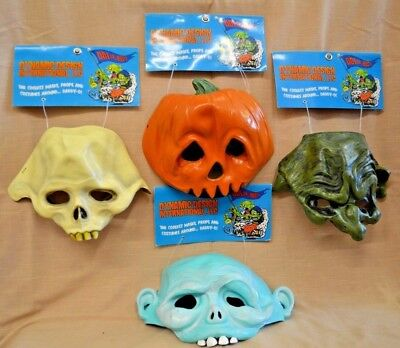 U PICK Halloween MASK SKELETON Pumpkin HEAD WITCH Goofy GHOST Dynamic DESIGN New - Pumpkin Head Mask Halloween