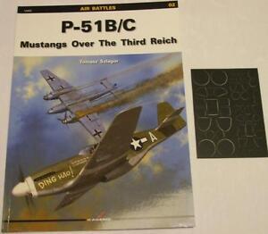 P-51B/C Mustangs over the Third Reich - Kagero Masking foil - English!!! - Reda, Polska - Zwroty są przyjmowane - Reda, Polska