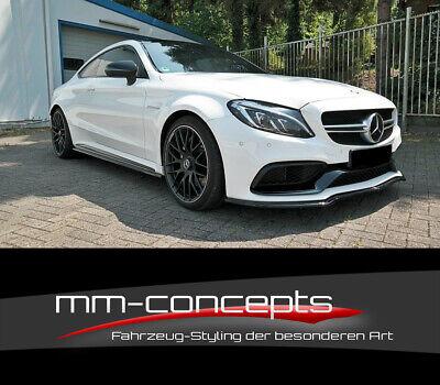 CUP Spoilerlippe für Mercedes C-Klasse AMG C63 C205 W205 Schwert Frontspoiler