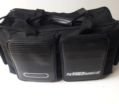 The VIDEO Traveler Video Camera Case MEDIUM HD, SD CAMCORDER, DSLR BLACK Medium Camcorder Case