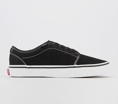 Womens Vans 106 Vulcanized Jnr Trainers Black True White Trainers Shoes